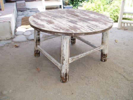 Las 25 mejores ideas sobre mesa de centro redonda en for Mesas de centro antiguas