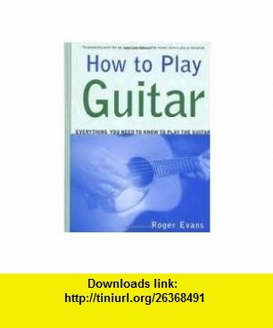 how to play guitar pdf