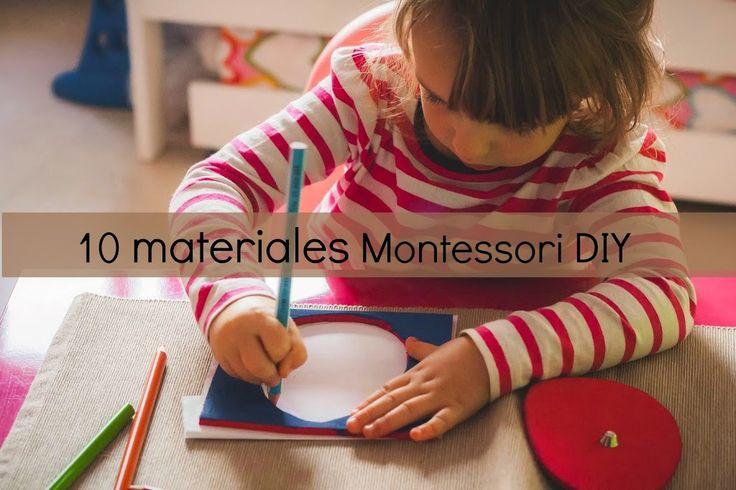 10 materiales Montessori que merece la pena fabricar - Tigriteando