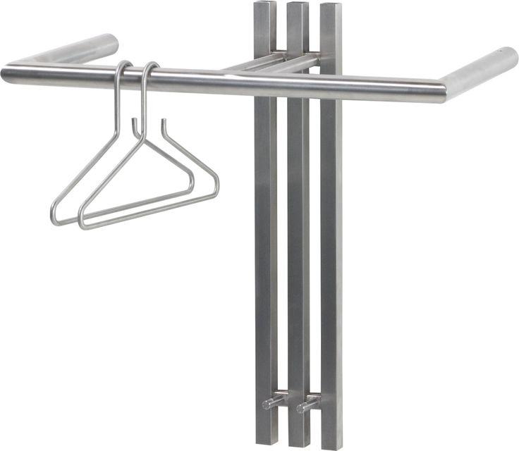 Deze Spinder Design Senza 1 wandkapstok kopen voor €159,50? Roestvrijstalen wandkapstok met strak design