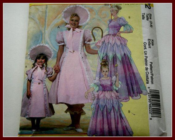 Little BO PEEP Girls Costume Sewing by VintagePatternsDepot