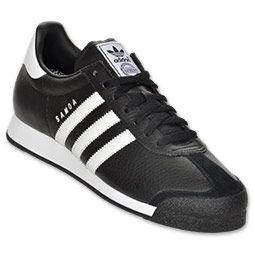 men's adidas samoa casual shoes  finishline  black