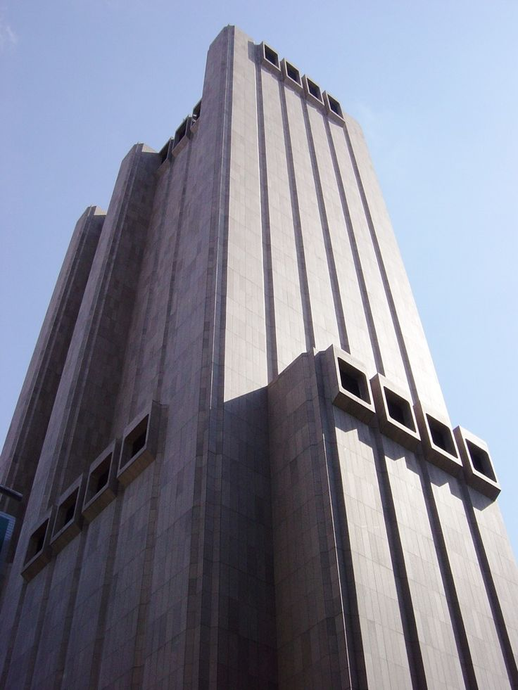 Brutalism at its most Brutal. Former AT Long Lines Building, NYC.