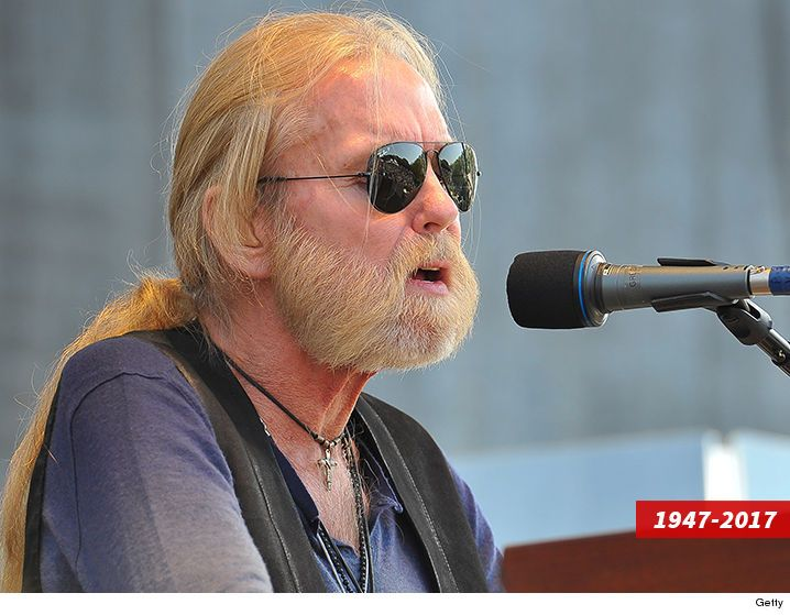 Gregg Allman's Funeral Draws Family Friends and Ex-Wife Cher (PHOTOS)