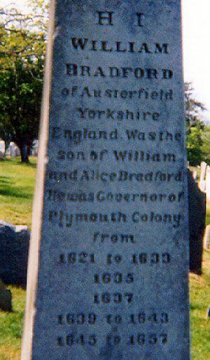 William Bradford - Mayflower passenger - Governor of Plymouth Colony