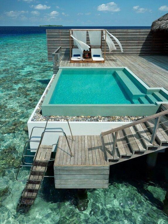 Seaside Pool, The Maldives