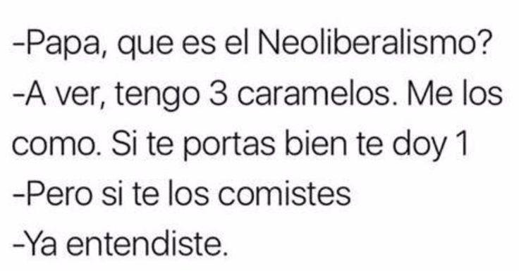 Que es el neoliberalismo? #Viñeta #Humor