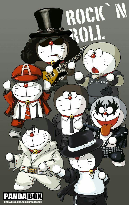 Download 100+ Gambar Doraemon Rock N Roll Paling Baru Gratis