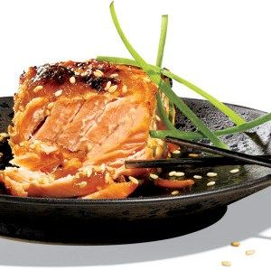 Delicious miso marinated salmon - favorite!