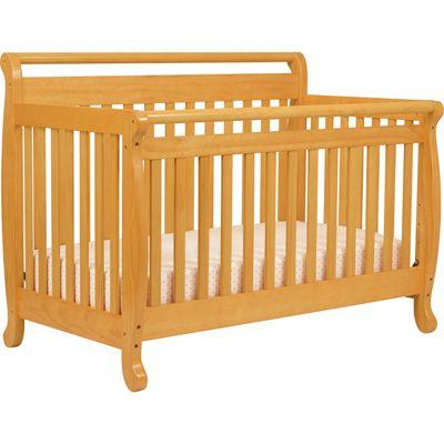 DaVinci Emily 4-in-1 Convertible Crib with Toddler Rail ...