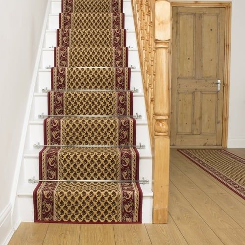 Best Acni Cream Stair Runner Indoor Outdoor Carpet Outdoor 400 x 300