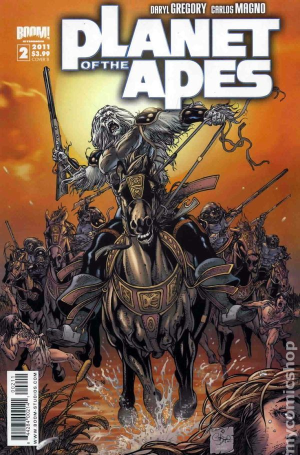 Planet of the Apes (2011 Boom Studios) 2B