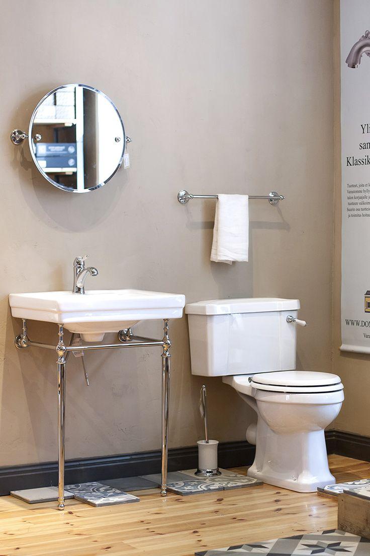 Klassiset kylpyhuonekalusteet meiltä! Tule tutustumaan Domus Classican Hattulan myymälään
