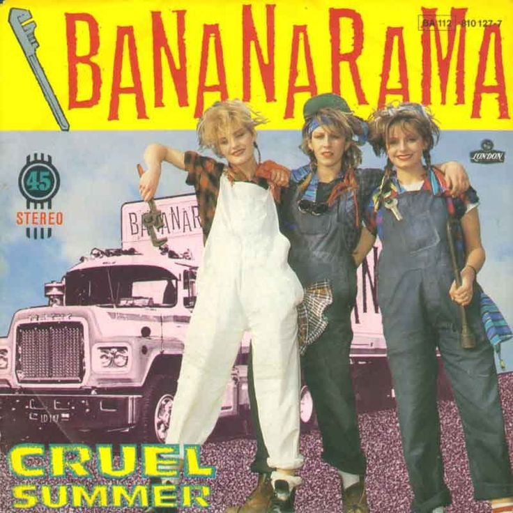 1980's band Bananarama  My old boss used to call me and my Irish friends Bananarama.