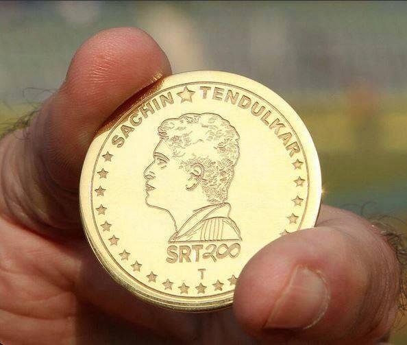 Coin Used for Toss Today #SRT200 #ThankYouSachin #sachintendulkar #SachinRetires