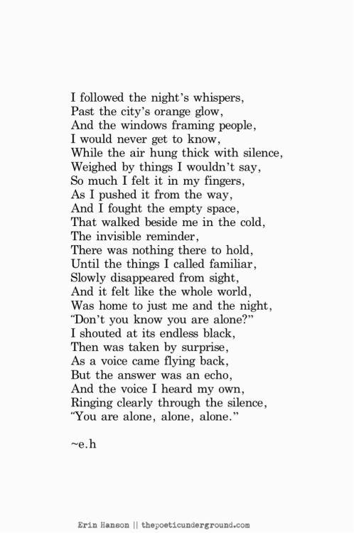 Echoes. thepoeticunderground.com #poem #poetry