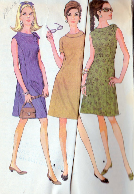 1960s Misses Princess Summer Dress
