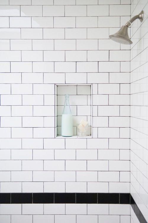 Bathroom Tiles With Dark Grout 82 best the subway tile images on pinterest | bathroom ideas, room