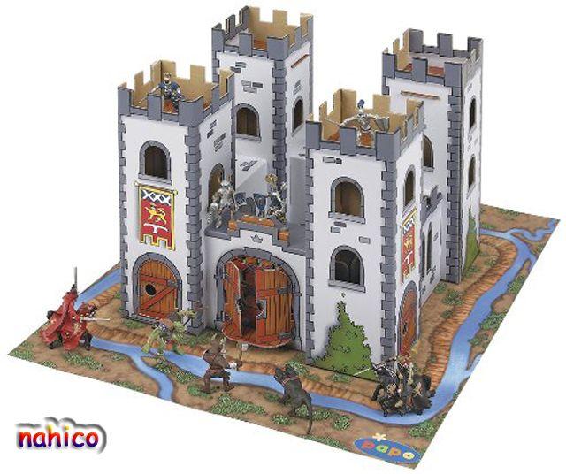 M s de 1000 ideas sobre castillo de cart n en pinterest - Manualidades castillo medieval ...