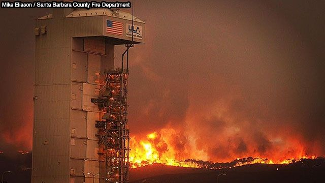 Slideshow: Canyon Fire at Vandenberg Air Force Base | News  - KEYT