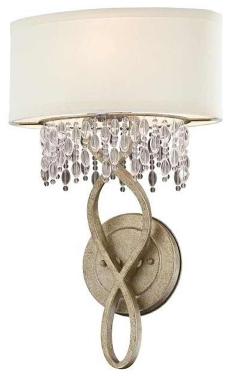 Wildwood brass and crystal beads buffet - Palais Gold Dust Sconce