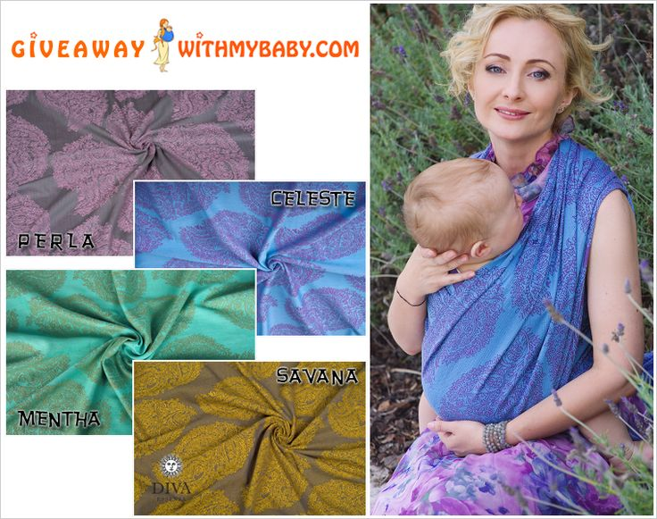 We have a great Giveaway! Join it and WIN 100% cotton reversible woven wrap by Diva Essenza! Hurry up! Ends June 3!