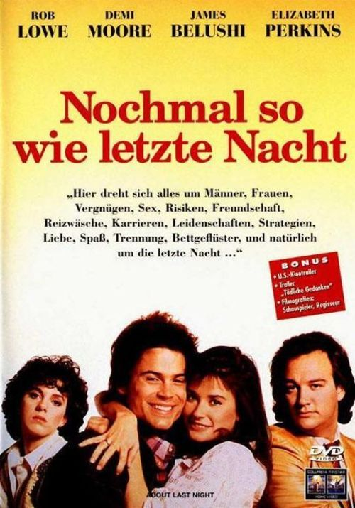 Watch About Last Night... 1986 Full Movie Online Free