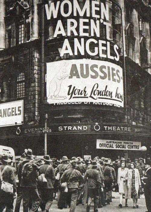 Australians in London, June 1940