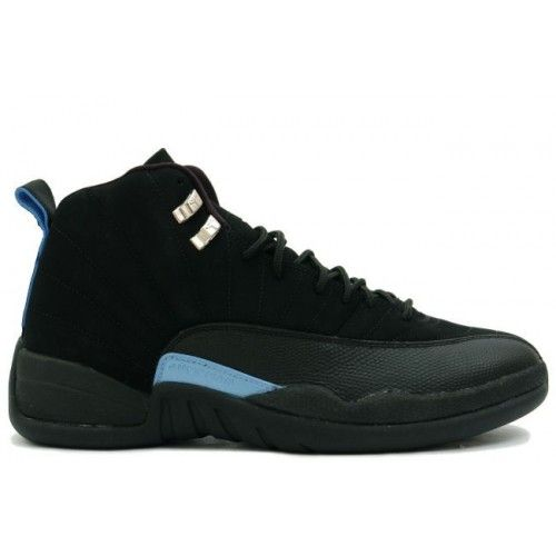 Air Jordan XII 12 Retro Mens Basketball Shoes Nubuck Black Blue $99.99 http://www.theredkicks.com