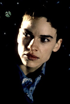Hillary Swank in boys don't cry