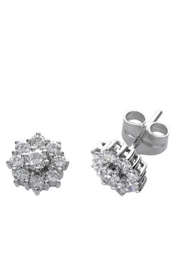 54d9137663e7  Pendientes clásicos y elegantes para  novias  joyería  noviaclasica  El  Corte Inglés  elcorteingles  brillantes