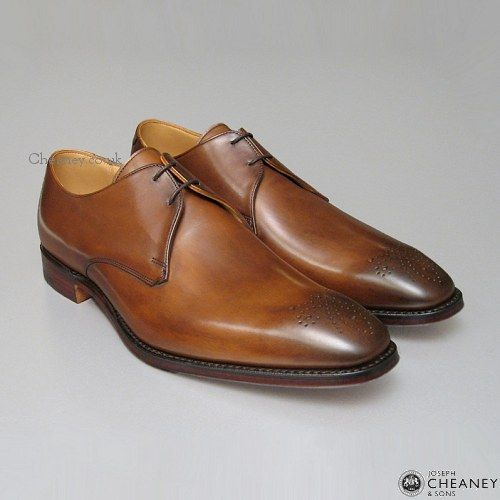 handmade British shoes. Love the burnished leather