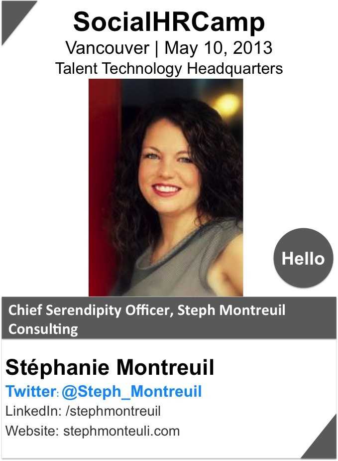 STEPHANIE MONTREUIL is an accomplished marketing communications professional with over 10 years experience. She likes to work with entrepreneurs & SMBs to help them put sound strategies in place and chose the proper new media channels to tell their stories, build communities and grow their brands.    An avid traveler, and savvy networker, she is known as a natural connector & relationship builder. She is also a firm believer in the power of community, connection & collaboration.