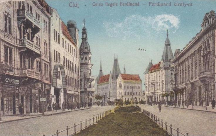Cluj, Calea Regelui Ferdinand , interbelica