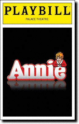 Annie Playbill Covers on Broadway - Information, Cast, Crew, Synopsis and Photos - Playbill Vault
