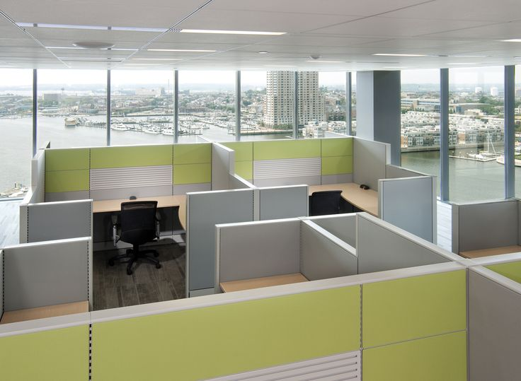 Cubicle Installation Pictures From Boca Office Furniture Located At 1200 Clint Moore Rd Raton