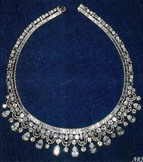 King Faisal Diamond Necklace. It was made in 1952 …