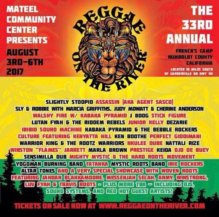 Reggae on the River 2017