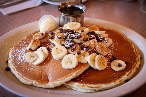 #banana, #pancakes