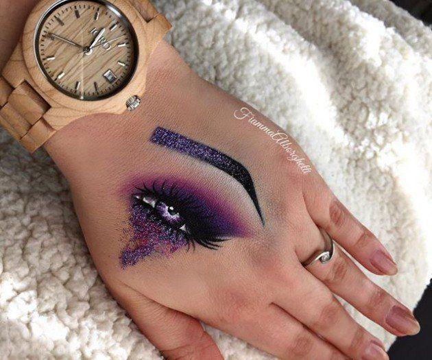 Hand Makeup   Instagram's Latest Makeup Trend
