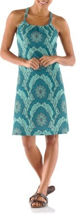 I have 3 prana dresses and wear all the time. This is a great style on me and I love the color