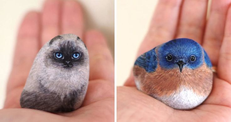 Ever considered having a pet rock? If not, take a look at Japanese artist Akie Nakata's works, and you might just change your mind. Inspired by the beauty
