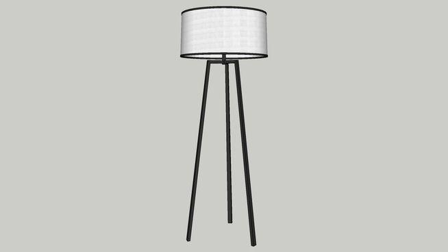 Shinto Tripod Floor Lamp - 3D Warehouse