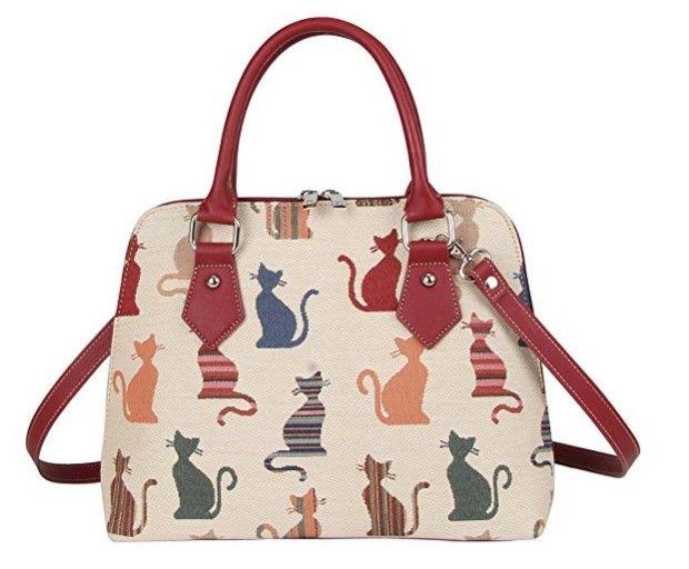 31 Fashion Forward Gifts for Cat Lovers Signare Cat Purse Handbag
