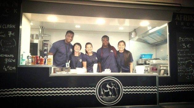 Un ancien joueur du Stade Toulousain installe un food truck 100% Africain à Ernest-Wallon !
