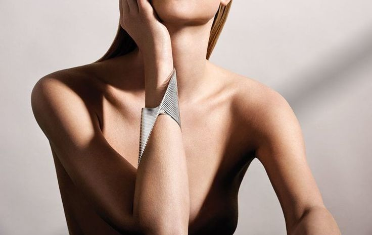 Inside Zaha Hadid's last Georg Jensen collaboration : The Danish house's latest collection has a hint of architecture and a twist of female empowerment by way of the famed late architect.