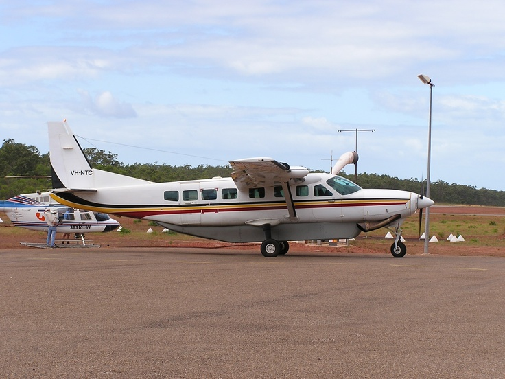 VH-NTC, C-208 Grand Caravan. The only Caravan I actually got to fly. Very nice!