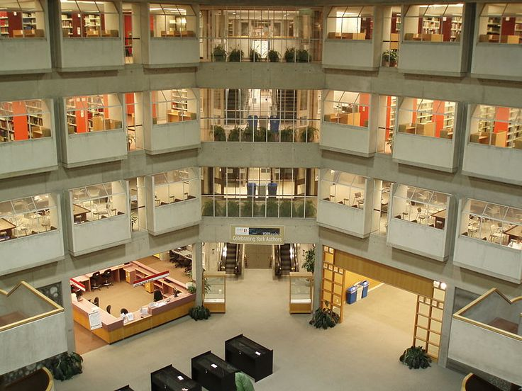 One of my favourite places on campus: Scott Library