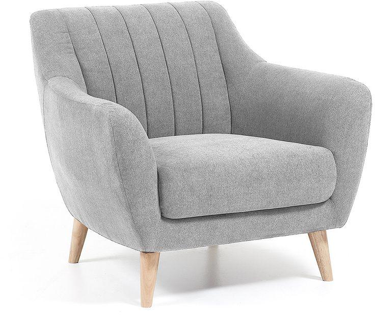 Obo fauteuil lichtgrijs - LaForma