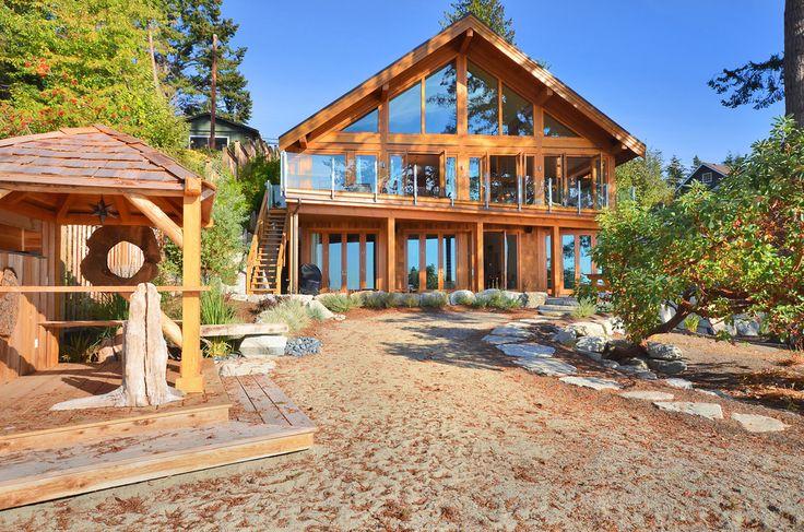 M s de 25 ideas incre bles sobre casas canadienses en - Casas de madera y mas com ...